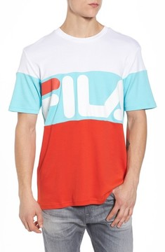 Fila Men's Vialli Colorblock Logo T-Shirt