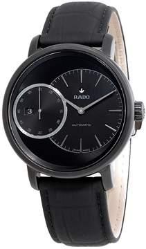 Rado Diamaster Automatic Black Dial Men's Watch