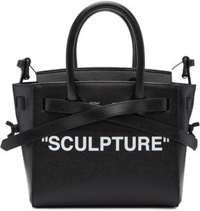 Off-White Black and Red Mini Sculpture Cut Flap Bag