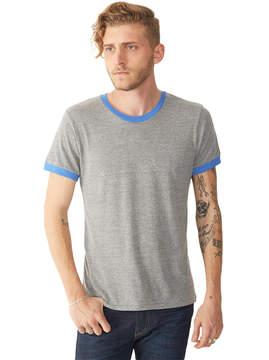 Alternative Apparel Contrast Eco-Jersey Ringer Crew T-Shirt