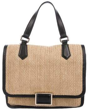 Marc by Marc Jacobs Leather-Trimmed Satchel