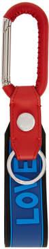 Fendi Multicolor Rubber Tag Keychain Set