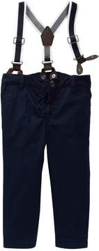 Joe Fresh Suspender Pant (Baby Boys)