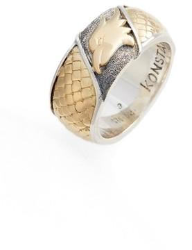 Konstantino Men's Heonos Eagle Ring