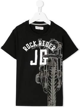 John Galliano logo print T-shirt