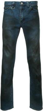 Roar stain effect jeans
