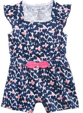 First Impressions Heart-Print Romper, Baby Girls (0-24 months), Created for Macy's
