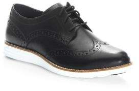 Cole Haan Leather Wingtip Oxfords