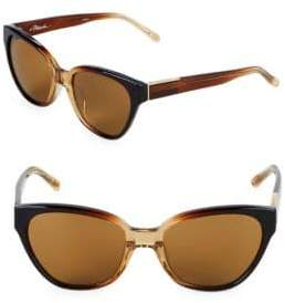 3.1 Phillip Lim 55M Cat-Eye Sunglasses