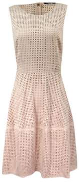 Tommy Hilfiger Women's Faux-Suede Perforated Dress
