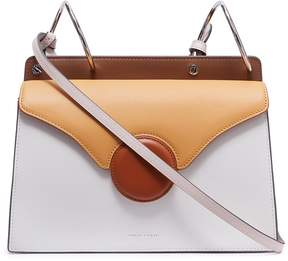 Lente Danse 'Phoebe' spiral handle leather crossbody bag