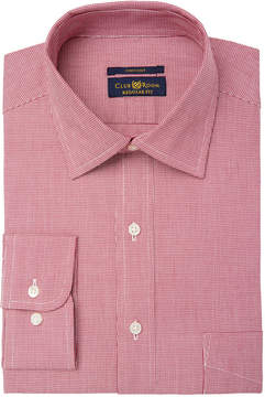Club Room Men's Regular Fit Pinpoint Houndstooth Dress Shirt, Created for Macy's