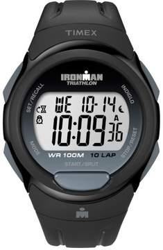 Timex Mens Ironman T5K608 10-Lap Black Watch