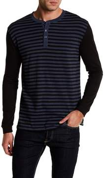 Slate & Stone Striped Shirt With Button Details