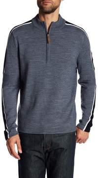 Obermeyer Vista Half Zip Merino Wool Blend Sweater