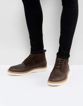 Selected Rud Chukka Boots In Brown