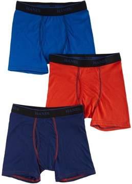 Hanes Boys 3-pk. X-Temp Boxer Briefs