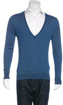 Dries Van Noten V-Neck Knit Sweater
