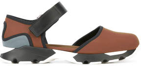 Marni neoprene mary-jane strap sneakers
