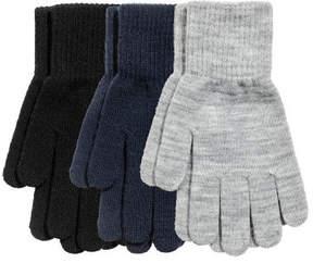 H&M 3 Pairs Gloves - Black