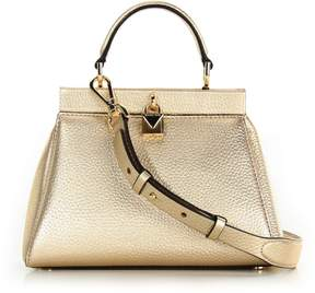 MICHAEL Michael Kors Gramercy Small Satchel Gold - GOLD - STYLE