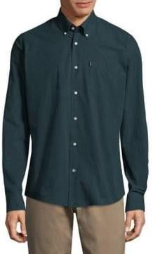 Barbour Woven Cotton Casual Button-Down Shirt