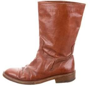 Dries Van Noten Tall Leather Boots