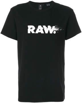 G Star print T-shirt