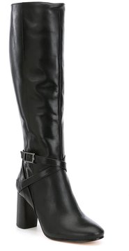 Antonio Melani Prattss Narrow Calf Strap and Buckle Harness Boots