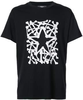 Amiri star patch T-shirt