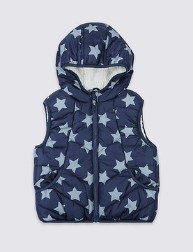 Marks and Spencer All Over Print Gilet (3 Months - 7 Years)