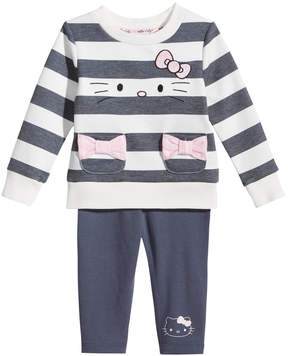 Hello Kitty 2-Pc. Striped Top & Leggings Set, Baby Girls (0-24 months)