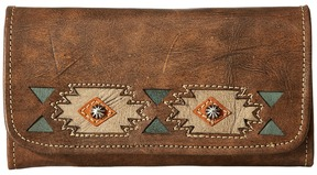 American West - Native Sun Trifold Wallet Wallet Handbags