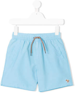 Paul Smith embroidered logo swim shorts