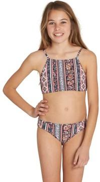 Billabong Girl's Rosa Moon Two-Piece Swimsuit