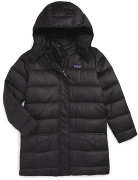 Patagonia 'Down For Fun' Water Repellent Coat