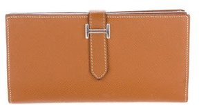 Hermes Epsom Bearn Wallet - BROWN - STYLE