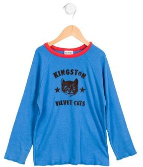 Bonpoint Boys' Long Sleeve Graphic Shirt