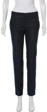 Moncler Mid-Rise Straight-Leg Jeans