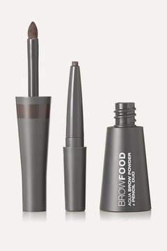 LashFood Browfood Aqua Brow Powder Pencil Duo - Taupe