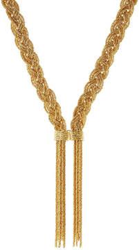 Aurelie Bidermann Miki 18kt Yellow Gold-Plated Necklace