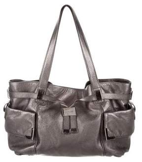 Michael Kors Metallic Leather Tote