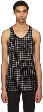 Haider Ackermann Black and White Heliodor Tank Top