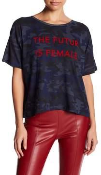 Eleven Paris ELEVENPARIS The Future Is Female Crop Tee