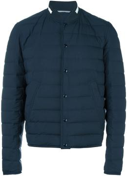 Christian Dior collarless padded jacket