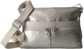 Kipling Angie Handbags - CLOUD GREY METALLIC - STYLE