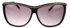 Chloé Embellished Tinted Sunglasses