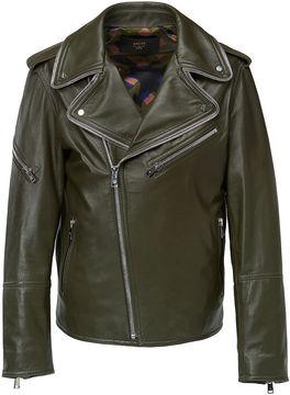 MCM Men's Leather Rider Jacket