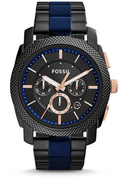 Fossil Machine Two-Tone Stainless Steel Watch