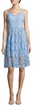 Alexia Admor Embroidered Lace Dress